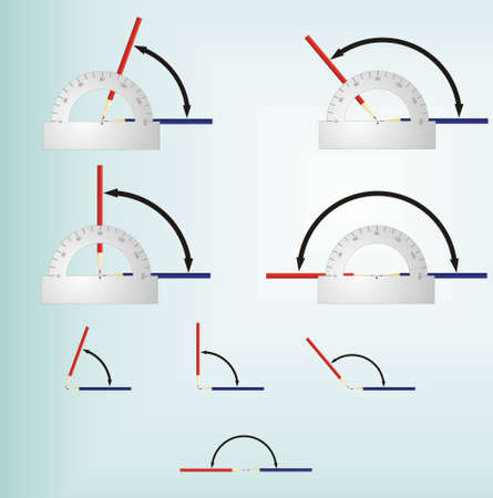 The illustration can be applied at editing school textbooks for the mathematician Ilustração