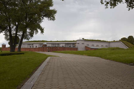 ix: Years of Nazi occupation (1941-1944 m.) IX fort - Massacre place where Nazis killed more than 50 000 people of various nationalities, including more than 30 000 Jews lived in Kaunas, Kaunas ghetto prisoners  Stock Photo