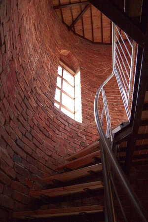 staircases: Spiral staircases Pae�eriai Manor House of the Tower
