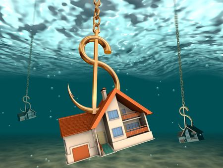 Trap for tenants and buyers of the real estate. Stock Photo