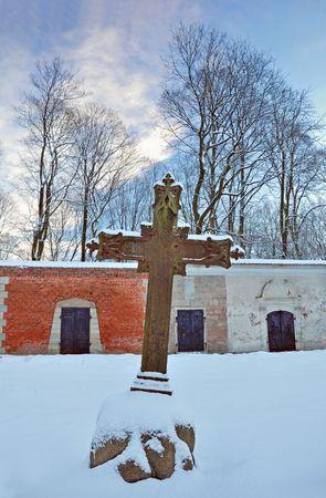lutheran: Old Lutheran cemetery in Riga, Latvia.