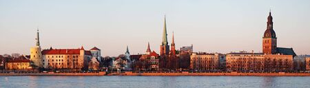 Panorama of Old Riga on a decline. Stock Photo - 4700565