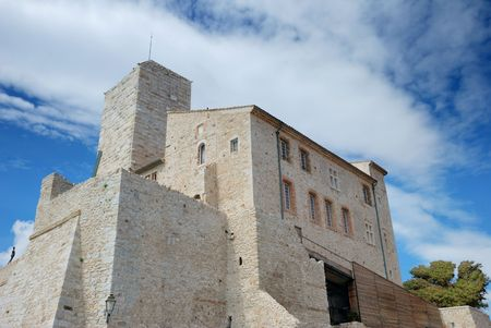 picasso: Picasso Museum in Antibes on the French Riviera, France. Stock Photo