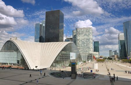 la defense: The most important business district La Defense in Paris, France.