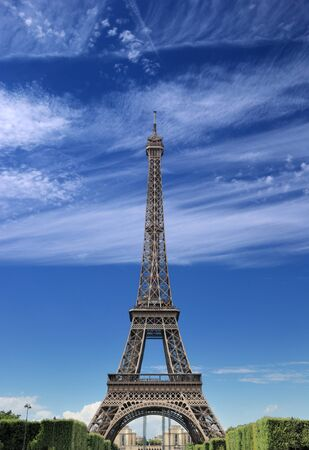 The Eiffel tower in Paris, France Stock Photo - 15636232