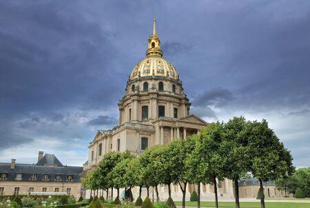 invalides: Chapel of Saint-Louis-des-Invalides in Paris, France  Stock Photo