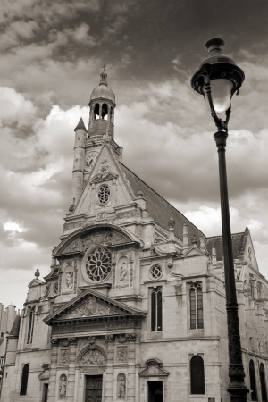 pascal: The church Saint-Etienne-du-Mont contains the tombs of French mathematician Blaise Pascal, dramatist Jean Racine and politician during the French Revolution Jean-Paul Marat. Paris, France.