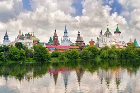 Moscow. Kremlin in Izmailovo Stock Photo