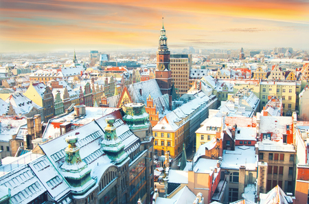 wroclaw: Poland. View of Wroclaw