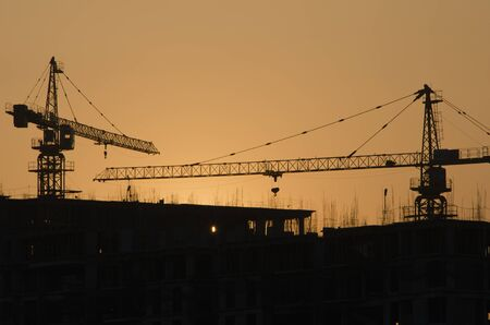 resulted: Housing boom has resulted in several construction projects dotting the skyline