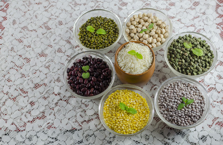 food staple: Lentils and rice are the main staple food of India