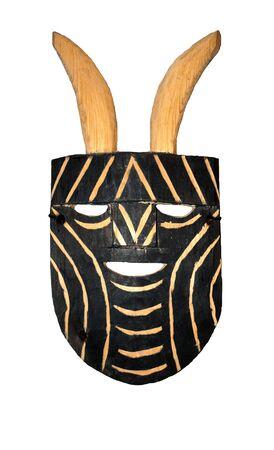 maschera tribale: Maschera di legno tribale