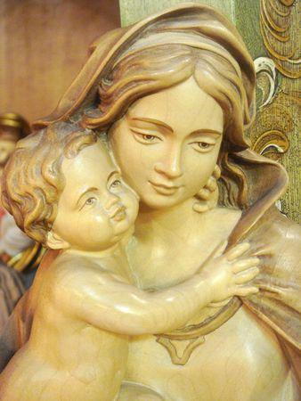 madona: Virgen Mar�a y el ni�o Jes�s