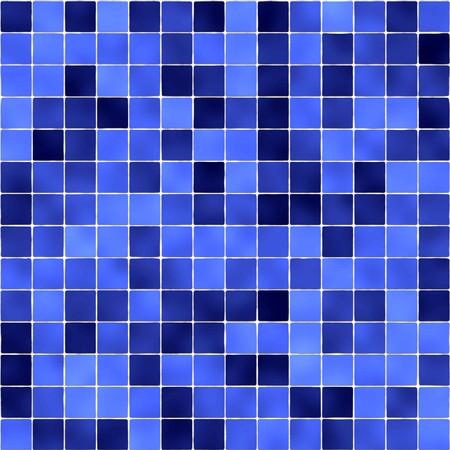 bad fliesen: Blau Badezimmerfliesen