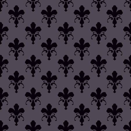 patterned wallpaper: Floral patterned wallpaper Stock Photo