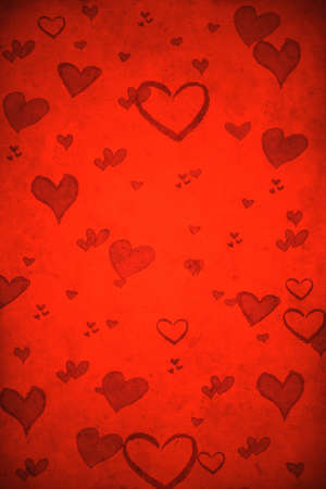 Valentine's day red background Stock Photo - 8380728