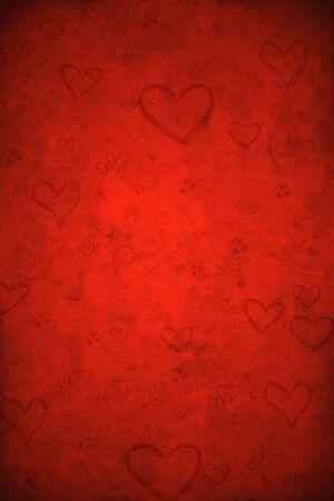 Valentine's day red background Stock Photo - 8380729