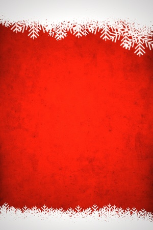 Red winter background photo