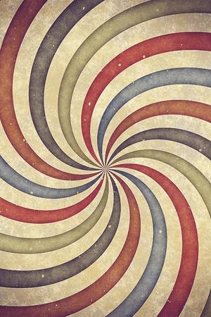 Vintage alten Blatt Papier mit sunburst Standard-Bild - 9502881