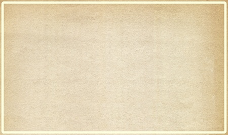 Altes Papier mit Innenrahmen Standard-Bild - 9545299
