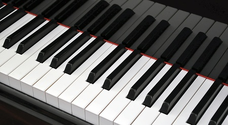 Grand Piano Keyboard photo