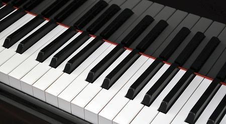 Grand Piano Keyboard photo
