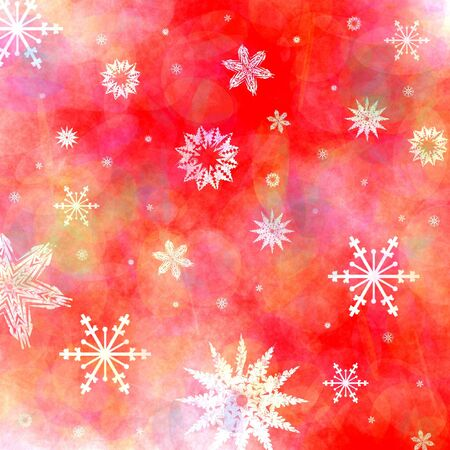 froze: Christmas snowflakes background