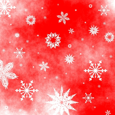 Christmas snowflakes background Stock Photo - 11180913