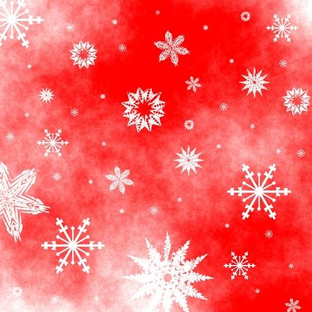 Christmas snowflakes background Stock Photo - 11180913