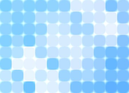 celeste: Abstract blue mosaic Stock Photo