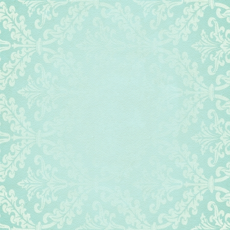fade: Vintage damask background Stock Photo