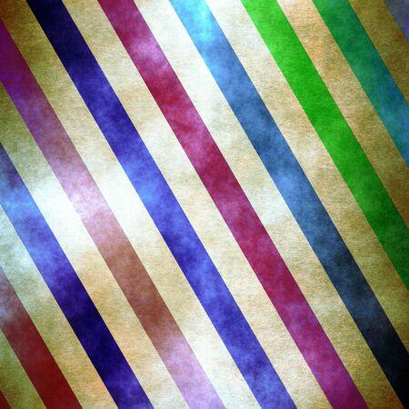 Retro grunge striped colorful pattern Stock Photo - 14898664
