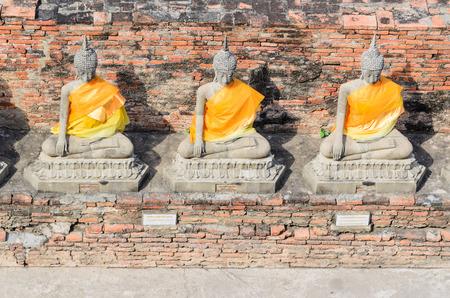 Buddha ayuthaya, Thailand. photo
