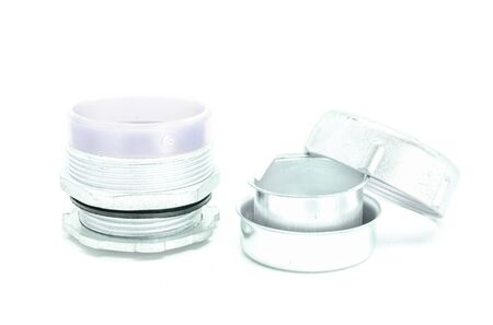 flex: Flex connector fitting on white background.