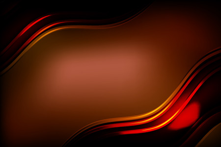 Abstract wavy glowing lines background.