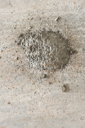 Texture of ready mixed concrete cement mortar. Sand and cement floor screed. Stock Photo