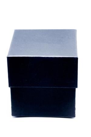 black box on isolated on white background.