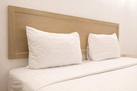 The interior Bedroom space minimal design in apartment.