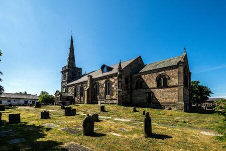 The parish church of St. Cuthbert, Churchtown, near Southport, UK.