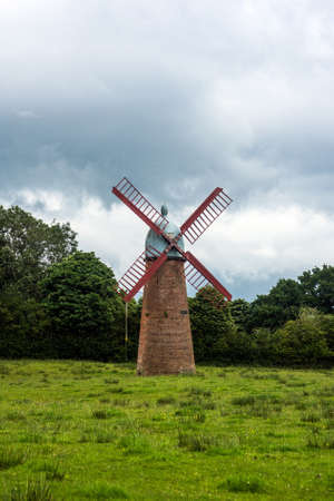 The Haigh Windmill was built in 1845 and was used to pump water to the reservoir at Haigh Brewery. It stopped working in the 1930s when the brewery closed.