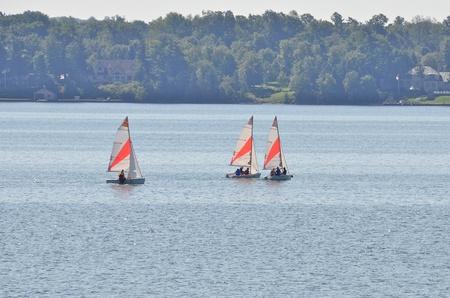 Sailboat Фото со стока