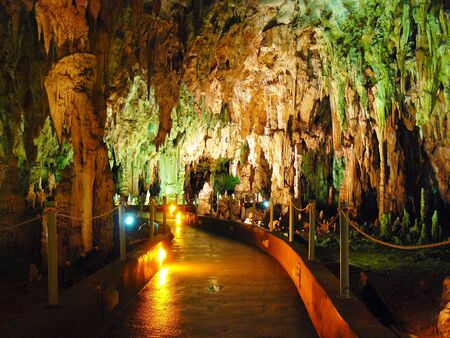 large formation: Cave  Alistrati the north of Greece