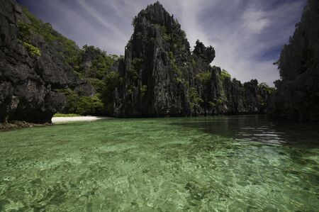 nido: Hidden Beach at El Nido Palawan
