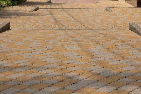 paving: Multilevel pavement of paving
