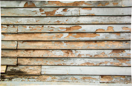 wooden partition: the wall is wooden plate Stock Photo