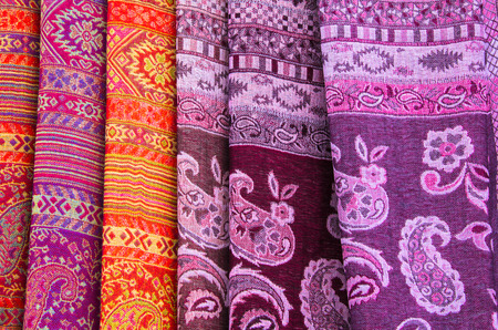weft: the colofs and pattern of hand craft fabric of thailand