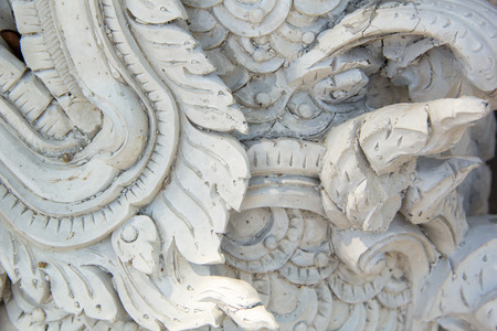 stucco: stucco decorate in thailand temple
