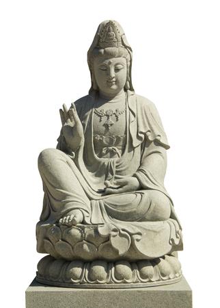 Imagen de Kuan Yin del arte chino de Buda