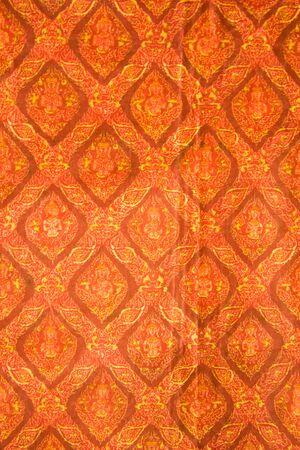 Thailand silk pattern and texture background Фото со стока