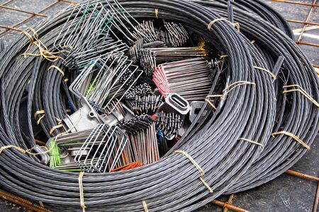 steel cable materrial for post tension system